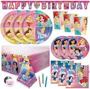Disney Princess Party Supplies And Decorations For Princess Birthday Party Theme