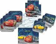 Cars 3 Party Supplies Tableware Pack For 16 Guests - Includes 16 Dinner Plates