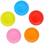Paper Plate Paper Cake Plates Assorted Colored Disposable Plates For Birthday