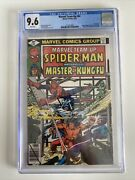 Marvel Team-up 84 Spider-man And Shangchi Cgc 9.6 White Pages