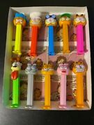 Pez Candy Garfield Pez Dispensers - Lot Of 10