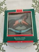 Rocking Horse 1989 Ninth 9th In Series Hallmark Ornament Free Shipping