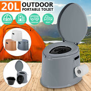 3 Colors Portable Toilet Seat Travel Camping Hiking Outdoor Indoor Potty Commode