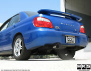 3302-st029 Hks Sport Exhaust System For 1985-87 Toyota Corolla Gts