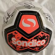 Tranmere Rovers Football Signed By 21/22squad Inc Mellor, Clarke, Davies, Watson