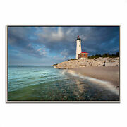 Tangletown Crisp Point Lighthouse Giclee On Gallery Wrap Canvas 13466-3624p125