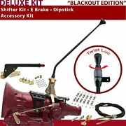 Th400 Shifter Kit 16 E Brake Cable Clamp Dipstick For Lokar Gennie Performance