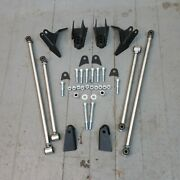 Stainless Steel Triangulated Full Size 4 Link Kit For 1938 - 1953 Buick Tci