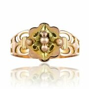 Ring Antique Of Promise Yellow Gold Rose Gold Napoleon Iii Jewelry Antiques