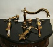 Fontaine Italia Bellver Roman Tub Handheld Shower Faucet Traditional Victorian