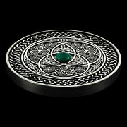 Rare Fiji 2016 3oz Pure Silver Mandala Coin Only 500 Pieces Minted Us Shipping