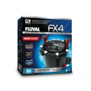 Fluval Fx4 Aquarium Canister Filter - Media Included - Free Shipping