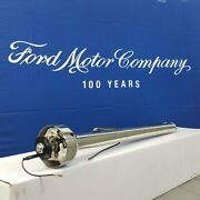 1969 Ford Torino 428 Polished Stainless Steering Column No Key Col Auto New