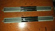 Lot Of 2 Bachmann Ez Track44820 10 Straight Re-railer ,no Power Cord N Scale