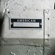 American Identification Plate Dataplate Serial Number Id Tag 40 Early Hot Rod