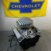 Sb Chevy 14 Air Cleaner Tall Valve Covers Engine Dress Up Kit 283-350 58-79 V8