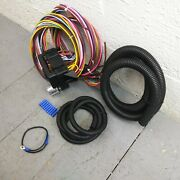 1969 - 1970 Chevrolet Passenger Cars 8 Circuit Wire Harness Fits Painless Fuse