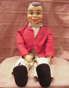 Ricky Little - 24 Ventriloquist Dummy Pull String Doll By Juro Novelty Co 1967