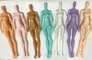 Monster High Doll Body Replacement 7 Pack For Ooak Or Repair