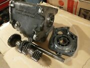 And03965 Muncie 4-speed 7/8 M20 Case Countershaft Gears Countershaft And Midplate