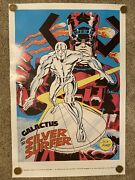 Silver Surfer Galactus Ff Marvelmania Poster Repop Mmms Foom 24andrdquo By 36andrdquo Cosmic