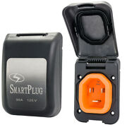 Smartplug 30 Amp Non Metallic Black Inlet - Boat And Rv Side