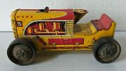 Marx 5 Toys Vintage Toy Wind Up Car Tractor