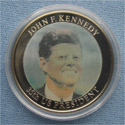 2008 John F. Kennedy White House Motion Image Coin Presidents Usa American Mint