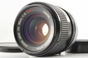 Concave Rare O [near Mint] Canon Fd 35mm F/2 S.s.c. Ssc Mf Lens From Japan