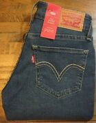 Leviand039s 535 Mid Rise Super Skinny Stretch Jeans - Juniorand039s / Womenand039s 1 M Nwt