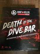 100 Complete 2020 Hunt A Killer Death At The Dive Bar Murder Mystery Board Game
