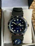 Orient Men Ray Ii Divers Black Rubber Japanese Automatic Faa02008d9 New In Box