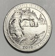 2018 D Washington Quarter 25andcent America The Beautiful Ddr Error Coin 3905