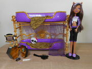 Monster High Clawdeen Wolf Dead Tired Room To Howl Bunk Bed