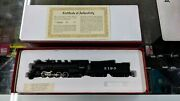 Mantua Ho Scale Model Train 348-020 - At And Sf 2-8-2 Hvy Mikado - Pre-owned