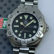 Rare Vintage Tag Heuer Super Profesional Automatic Diver Watch Ref 840.006 42mm