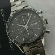 Tag Heuer Carrera Fangio Limited Edition Automatic Chronograph 42 Mm