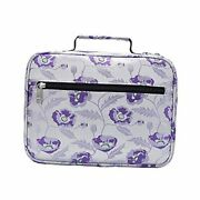 Bible Cover Case Carrier Carrying Bag With Handles For Women Ladies Purple