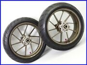2002 Cbr954rr Galespeed Type-r Aluminum Forged Wheel Front And Rear Set W/ Tire Uu