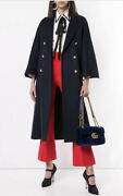 Flare Sleeve Coat Jacket-with Tags- Rrp4800 Aud