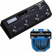 Boss Multi-effects / Switcher + Solderless Cable Kit