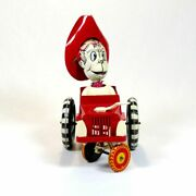 Rare Unique Antique Louis Marx Tin Sheriff Sam Whoopee Car Wind-up Toy