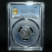 1807 Draped Bust Dime ✪ Pcgs Xf Details ✪ 10c Silver Scarce Type Coin ◢trusted◣