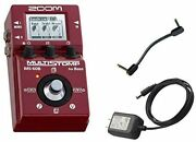 Zoom / Ms-60b Multistomp Bass Pedal -with Genuine Ac Adapter And Patch Cable-st