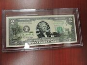 2003 Two 2 Dollar United States Rhode Island Edition Federal Reserve Note