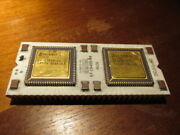 Vintage Ic Cpu Digital 57-19400-04 Collect Or Gold Recovery