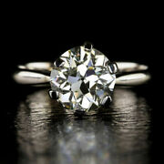 Christmas 0.40 Ct Round Diamond Engagement Ring Solid 14k White Gold Size 7 8 9