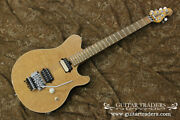 Used Music Man 1999 Axis Yellow Electric Guitar Free Shipping