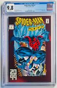 Spiderman 2099 1 Cgc 9.8 White Pages-crystal Clear Case
