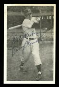 1953 Danny O'connell Autographed Hq Signed Rppc Postcard Postmarked Gem Mint Sig